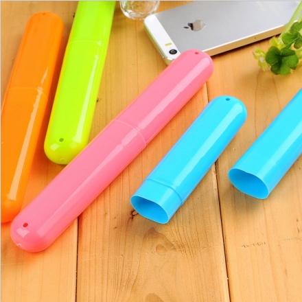 旅行小物 - 旅行用隨身牙刷盒 防菌衛生,方便置入行李箱中