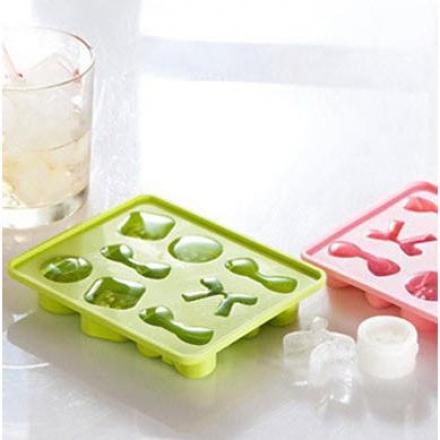 製冰盒 - 趣味蝴蝶結矽膠製冰盒