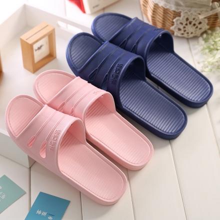 浴室拖鞋 - 簡約防滑防水室內拖鞋/居家拖鞋/情侶拖鞋,寬版【Casa Mia】