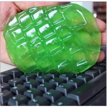 【任3件$99】鍵盤清潔 - 第二代水晶神奇萬能清潔膠,80g