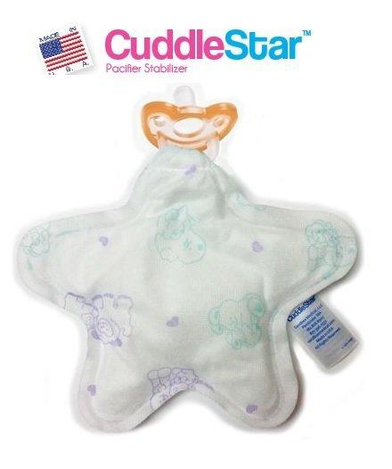 【彤彤小舖】美國 JollyPop Cuddle Star 初生嬰兒安穩型安撫奶嘴 /含奶嘴 美國製造
