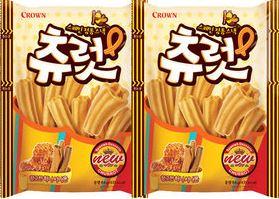 【韓新館】 CROWN 西班牙風吉拿棒(蜂蜜肉桂口味)/包  (缺貨中)