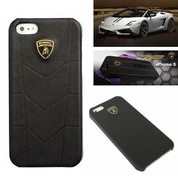 葳爾洋行 Wear Apple【Lamborghini 藍寶堅尼】Aventador 原廠真皮背蓋 Apple【iPhone5、iPhone5S】保護殼、背蓋【先創公司貨】