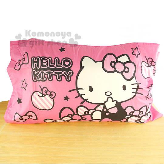 免運下殺↘299〔小禮堂〕Hello Kitty 枕頭套《2入.粉》貼心小物系列