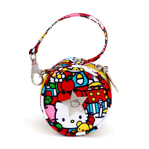 【Ju-Ju-Be】Paci-pod奶嘴收納包-Hello Kitty聯名款-Tick Tock 時光旅行