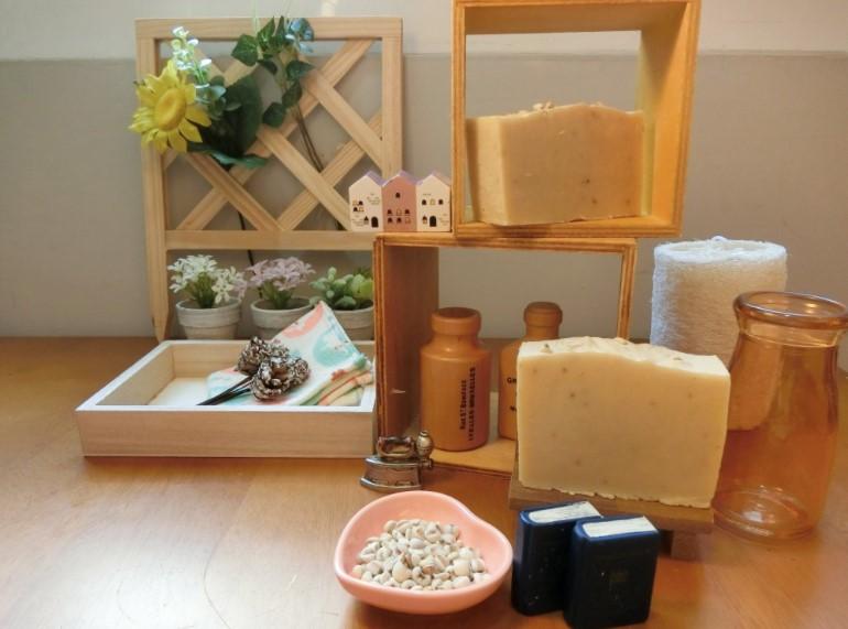 【米香手工牛奶皂】薏仁牛奶皂-100g +/- 10g