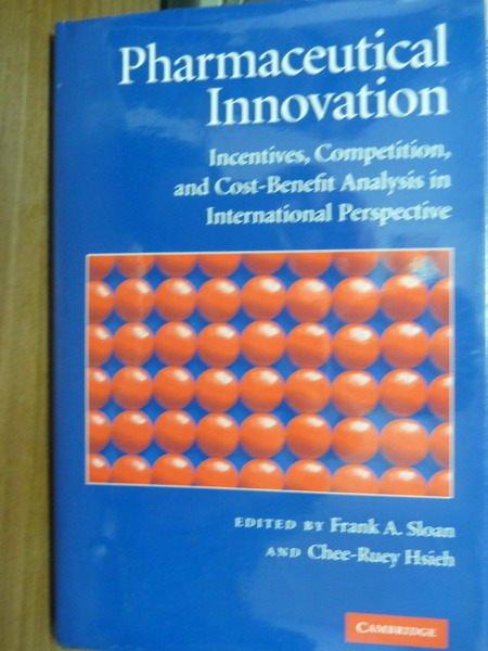 【書寶二手書T3/原文書_QKV】Pharmaceutical Innovation_Sloan