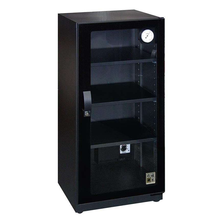 【免運】收藏家 CD-105 時尚珍藏系列全能型電子防潮箱《100公升》