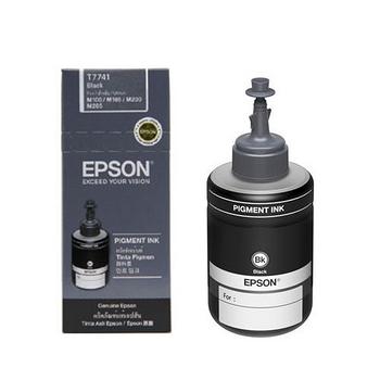 EPSON 原廠連供魔珠黑墨 T774100 適用M200/M105