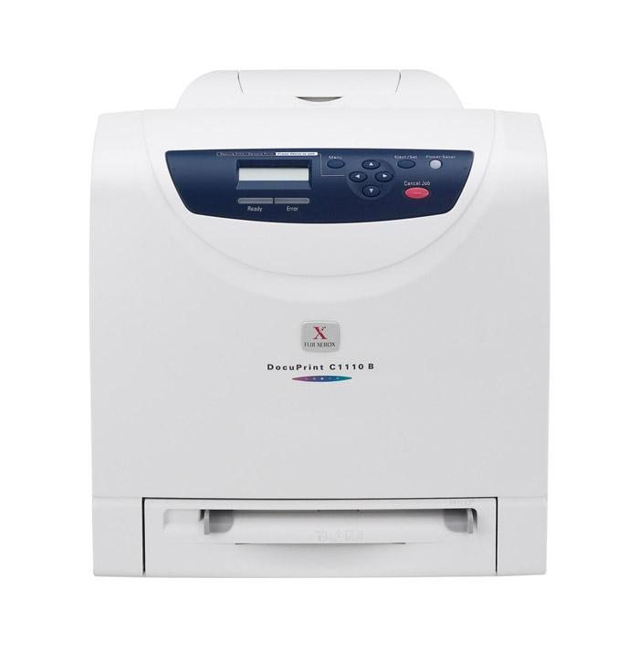 【二手良品出清】富士全錄 DocuPrint C1110B A4彩色雷射印表機(不含碳粉、光鼓)