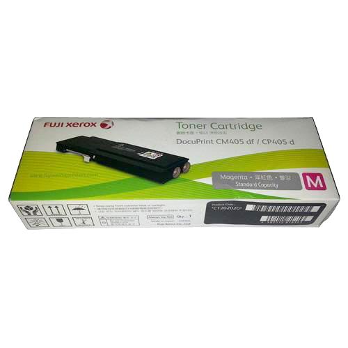 【免運】Fuji Xerox 富士全錄原廠標準容量 紅色(M) 碳粉匣 CT202020 適用 DocuPrint CP405 d/CM405