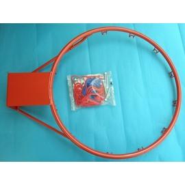 標準籃球框+籃球網(5分鐵)台灣製造/一組入{促800}