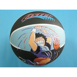 籃球.一般外銷彩色籃球.標準7號彩色籃球(雙色+圖騰)/一個入{促250}