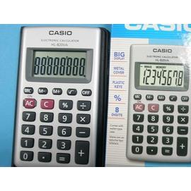 計算機CASIO卡西歐HL-820VA-w攜帶型皮面式計算機8位數/一台入{定230}