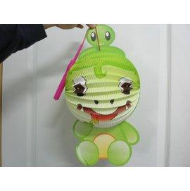 蛇燈籠.紙燈籠.Q版十二生肖造型紙燈籠(蛇造型/附電池)/一個入{促99}