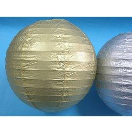 8吋金色燈籠 空白燈籠 彩繪燈籠 空白紙燈籠 圓形燈籠 DIY燈籠(金色)直徑20cm/一個入{定50}