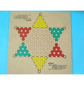 象棋盤+跳棋盤 木棋盤(木板)正.反兩面/一個入{促100}