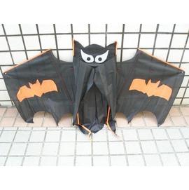 蝙蝠風箏.蝙蝠造型風箏(立體布面.碳纖維架133cm X 85cm)/一支入{定180}