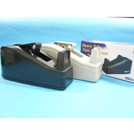 Kw-trio可得優膠帶台3311大型膠帶台黑色.米色(面寬12mm.18mm.24mm適用)MIT製/一台入{定120}