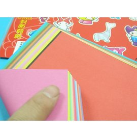 雙面雙色色紙.教學色紙2010折紙摺紙色紙17.5cm x 17.5cm(大張)/{定20}一袋/ 20包入(一包12張入)