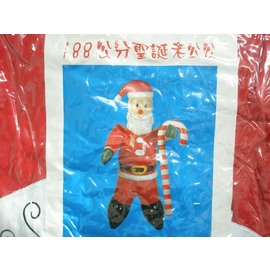 大型聖誕節充氣聖誕老人 充氣聖誕老公公 高188cm/一個入{促850}
