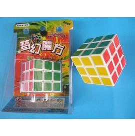魔術方塊 標準比賽級 夢幻魔術方塊5.7cm X 5.7cm(白底)/一個入{定100}
