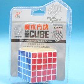 5 x 5 x 5魔術方塊 NO.1017 比賽標準五節魔術方塊6cm x 6cm/一個入{定299}