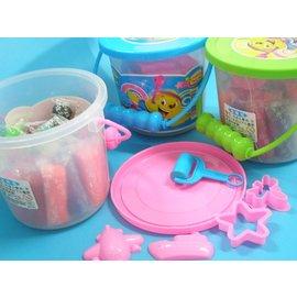 彩色黏土 彩色粘土 彩泥土25色童玩捏麵人TK8288(大桶手提式)/一桶入{定100}