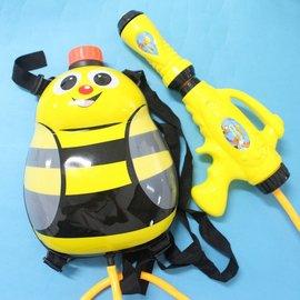 蜜蜂水槍 背包水槍 後背式水槍 可背式動物造型 槍長27cm 加壓式強力水槍/一個入{促199}