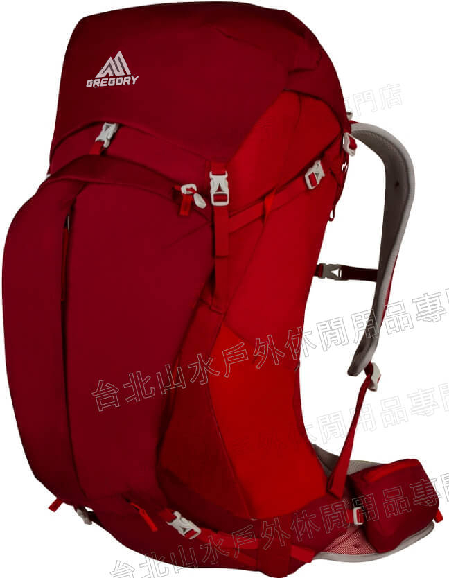 [ Gregory ] Z55 專業登山背包/登山包 55升 74559 紅