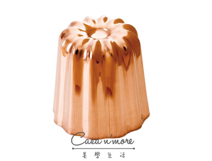 Mauviel 純銅可麗露模型 銅製烤模 銅模5.5cm