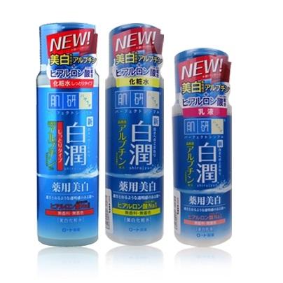 日本 ROHTO 肌研白潤美白化妝水/乳液