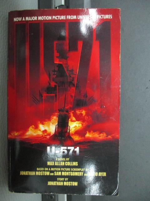 【書寶二手書T1/原文小說_NEE】U.571_Universal studios