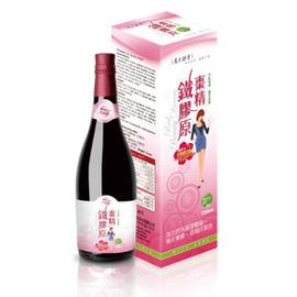 萬大酵素-棗精鐵膠原720ml/罐
