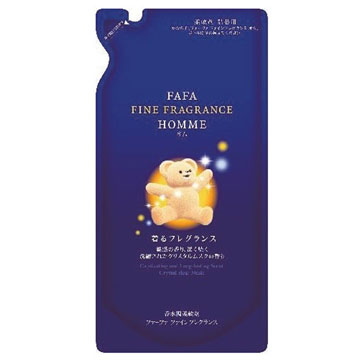 【NS FaFa】小熊香氛柔軟精(水晶麝香)-補充包500ml