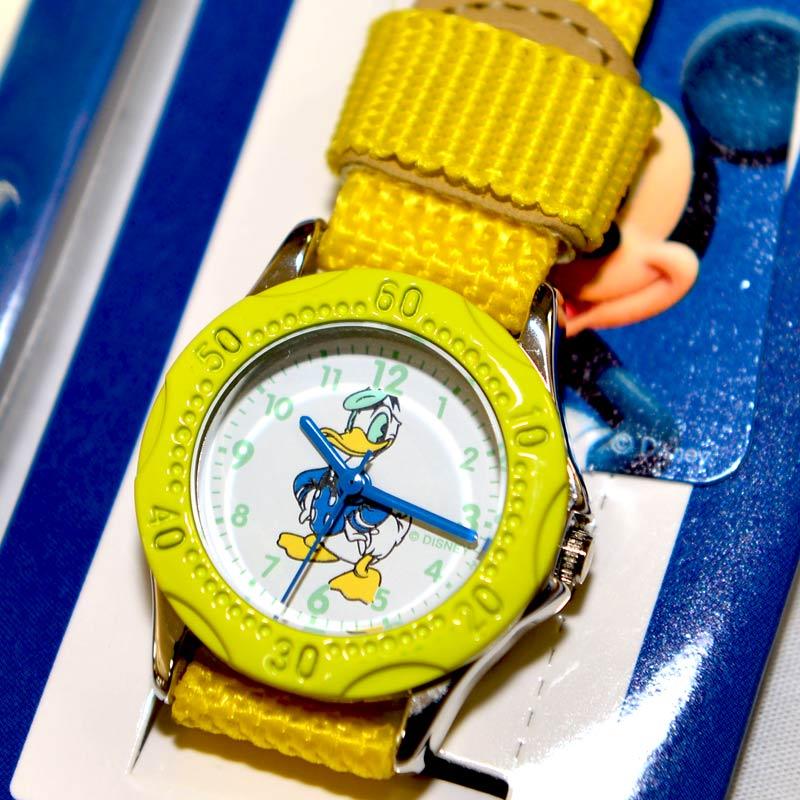 唐老鴨 Donald Duck 迪士尼 指針式 兒童手錶 日本限定 正版品