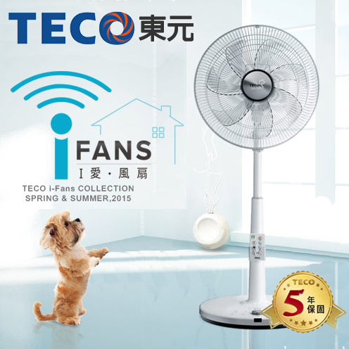 TECO東元 14吋 DC直流變頻電風扇 XA1463VD