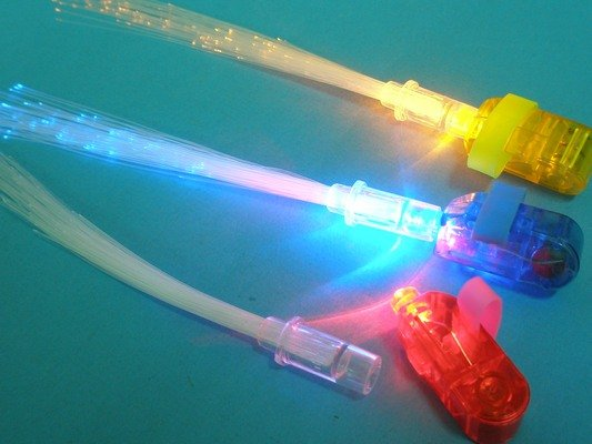 LED滿天星手指燈 LED手指燈(混色)/一袋12個入{定15}