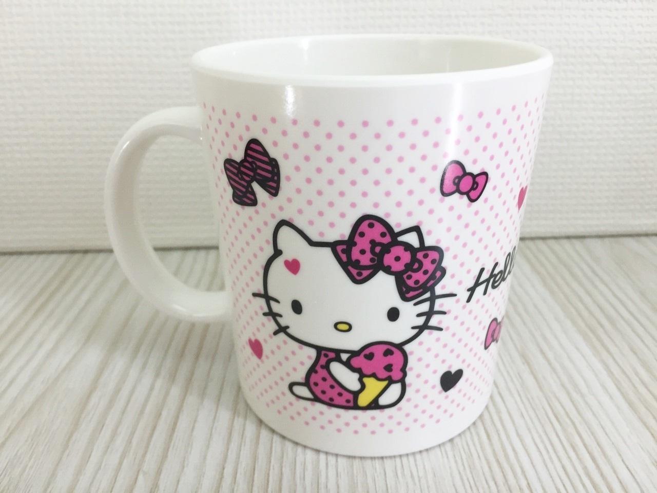【真愛日本】15120100008馬克杯-多結粉  三麗鷗 Hello Kitty 凱蒂貓   杯子  水杯 馬克杯
