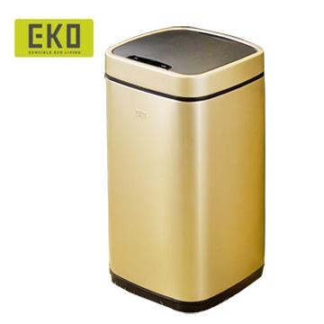 【HOME WORKING】EKO 臻美自動感應垃圾桶-9L(兩色可選)
