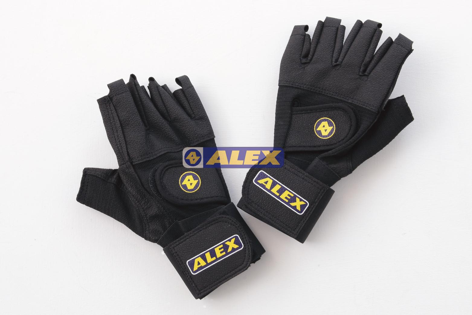 【登瑞體育】ALEX 皮革手套(雙)_A18