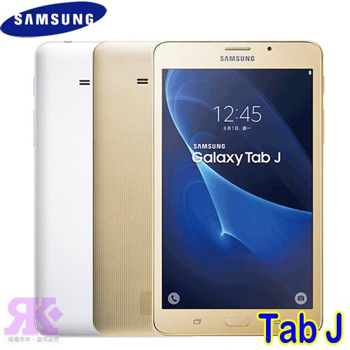 Samsung Galaxy Tab J 7.0 7吋四核平板 LTE版/8GB (T285)-贈平板專用皮套+手機/平板支架+韓版可愛收納包+奈米噴劑