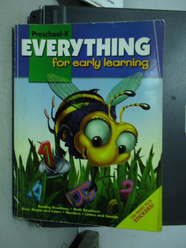 【書寶二手書T4/語言學習_PCB】Everything for early learning