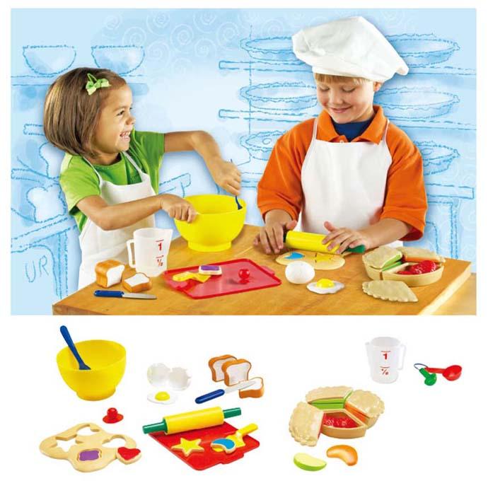 【華森葳兒童教玩具】扮演角系列-西點廚具組 N1-9056