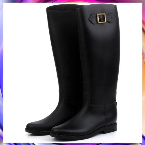 長筒雨鞋 雨具-防水防滑時尚流行女雨靴5s32【韓國進口】【米蘭精品】