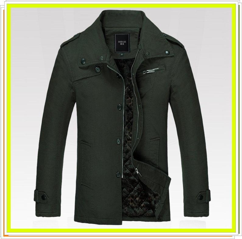 風衣外套 長大衣-流行時尚保暖防寒長版男外套2款4色5z19【韓國進口】【米蘭精品】
