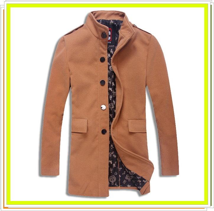 風衣外套 長大衣-流行時尚保暖防寒長版男外套5色5z47【韓國進口】【米蘭精品】