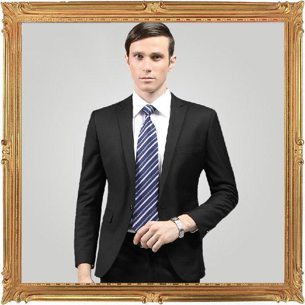 西裝套裝含西裝外套 西裝褲-時尚商務韓版修身男西服成套6x32【韓國進口】【米蘭精品】
