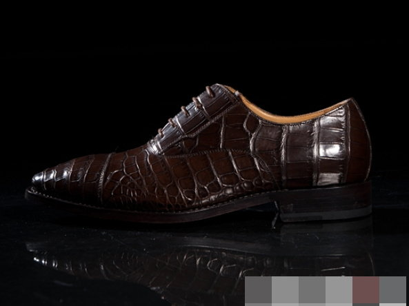 皮鞋 真皮鱷魚腹皮-時尚經典休閒商務型男鞋子L121【美洲進口】【米蘭精品】