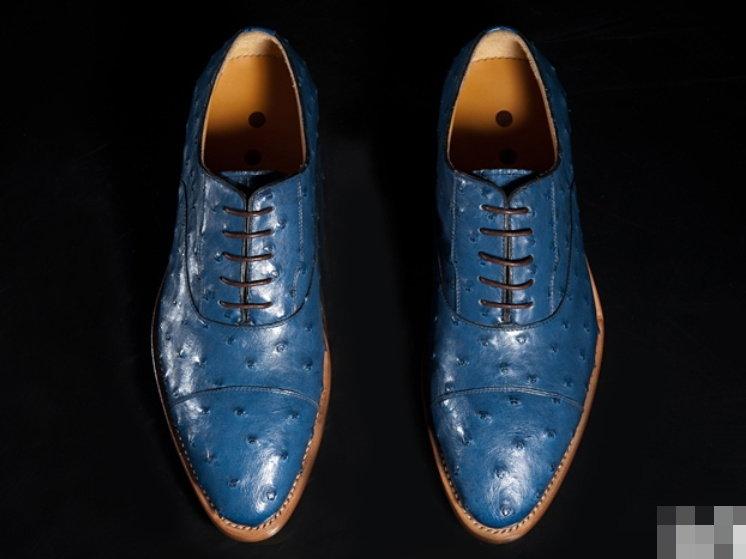 真皮皮鞋 鴕鳥皮-時尚經典休閒商務男鞋子L150【澳洲進口】【米蘭精品】